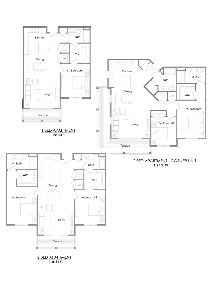 Manor Homes floor plans