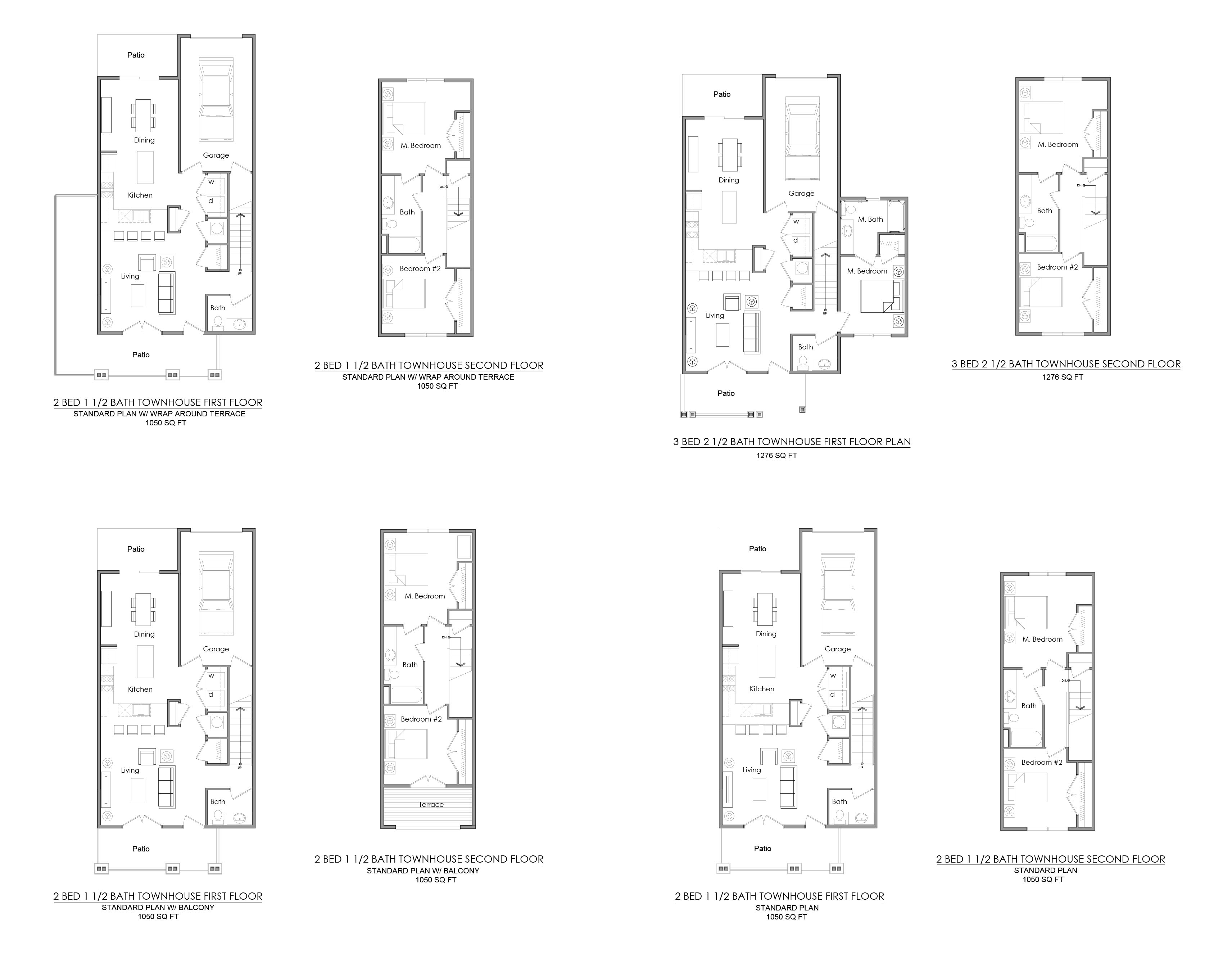 Our Floor Plans Willoughby Estates